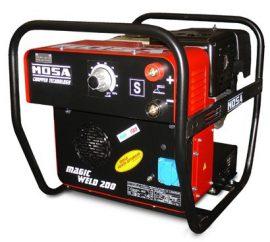 Mosa Magic Weld 200 Petrol Welder Generator