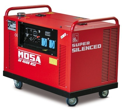 Mosa ge 4500 hsx eas petrol generator tbws for Mosa ge 3000
