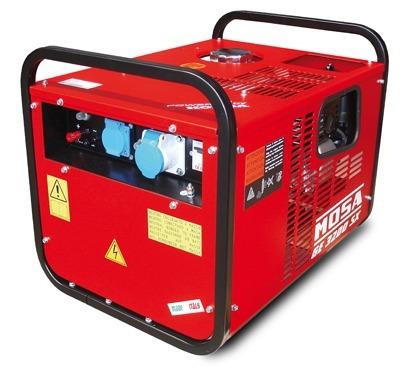 Mosa ge 3200 sx 3 1 kva single phase petrol generator tbws for Mosa ge 3000