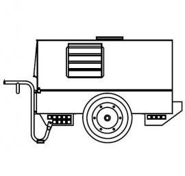 Mosa CTM330 Wheels and Handles Kit CS 350 KSX
