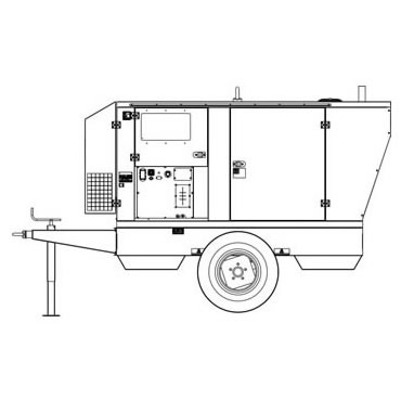 Mosa Trailer CTL45 Site Tow