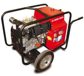 6.5 kVA to 15kVA Generators