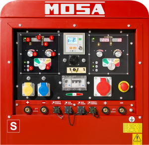 Mosa TS EVO Digital Front Panel