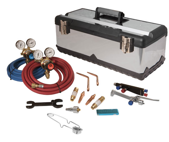 Lightweight welding and cutting kit
