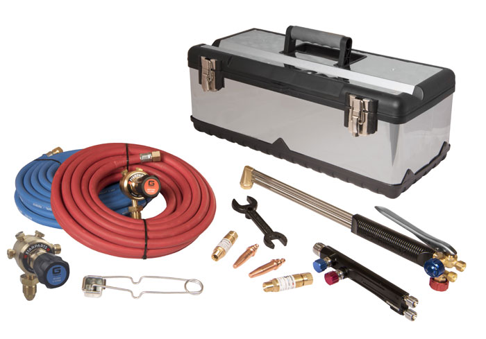 Lightweight Gas Welding and Cutting Set - TBWS Welding Supplies
