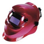beta red welding helmet