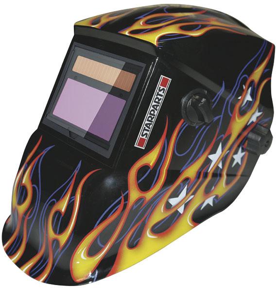 Starparts flame auto darkening welding helmet