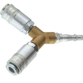 AC6103 - PCL Airflow male to x2 female Y splitter