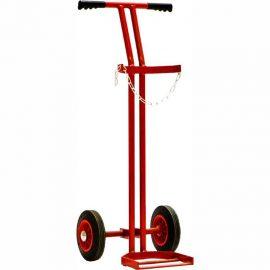 BOC style cylinder trolley