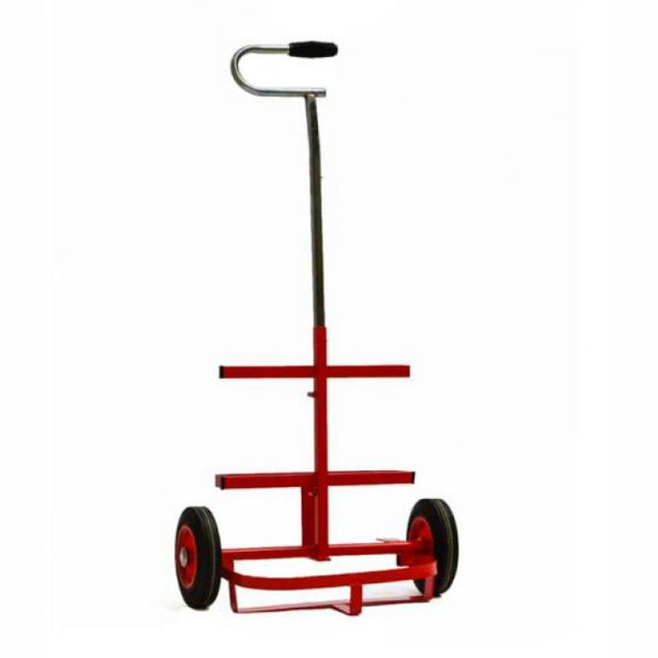 Caddy style gas cylinder trolley