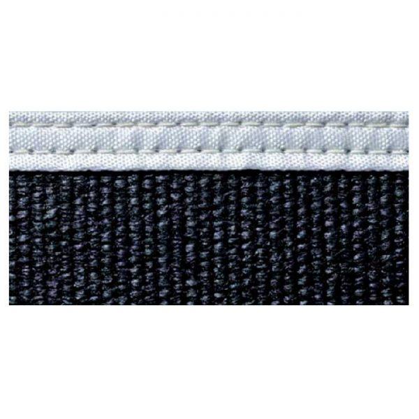 Black fibreglass welding blanket
