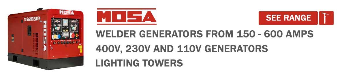 Mosa welder generator