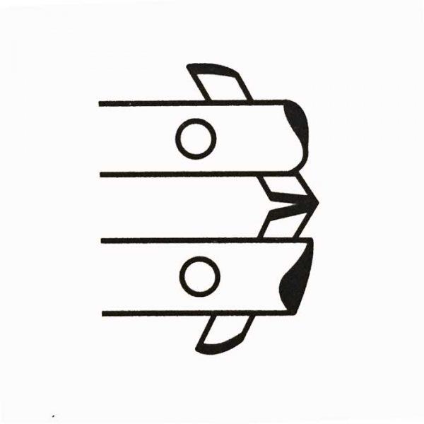 Tecna 3524 shaped electrodes