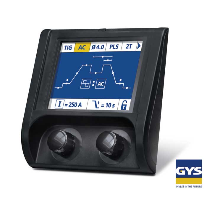 GYS TIG 250 AC DC Panel