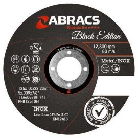 Abracs Black Edition 1mm cut off disc
