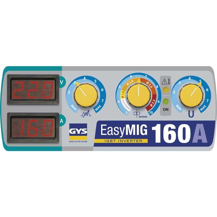 GYS EasyMIG 160 Panel