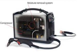 Hypertherm Powermax 30 Air Integrated air compressor