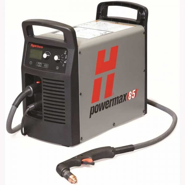Hypertherm Powermax 85 XP with torch